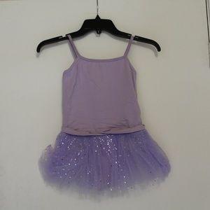 MDNMD Leotard Dance Ballet Violet AM000004